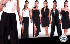 Uma Peça, Vários Modelos - Pantalona Infinity como Calça Envelope, Saia, Vestido e Macacão | Based On Brasil