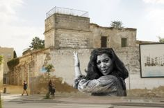 La Macanita, proyecto mural C/. Armas de Santiago