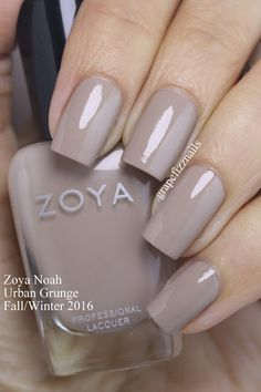 Zoya Noah - Grape Fizz Nails