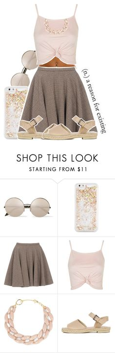 """""""Raison D'etre"""" by chynelledreamz ❤ liked on Polyvore featuring Victoria Beckham, ban.do, McQ by Alexander McQueen, Topshop and DIANA BROUSSARD"""