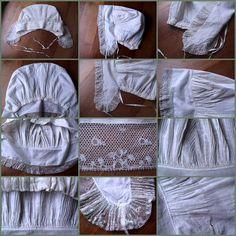 Woman's Cap. http://media-cache-ec0.pinimg.com/originals/1c/e9/1d/1ce91ddd35384e231af81c04892f1baf.jpg