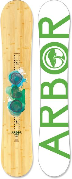 Arbor Push Snowboard = Time for a new ride!
