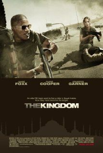 THE KINGDOM. I had my doubts about this movie when I first rented it on cable. I mean Jamie Foxx, Jennifer Garner and Jason Bateman in a Middle East terrorist drama?? Immediately went out and purchased the video and added it to my collection. Very powerful story, excellent acting. And Ashraf Barhom, an Israeli actor of Arabic heritage, steals the show.