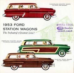 1953 Ford Station Wagons   Flickr - Photo Sharing!