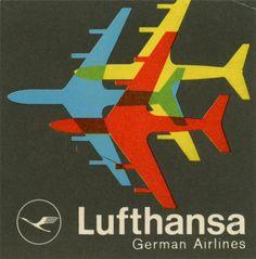 Lufthansa German Airlines label