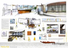 interior design presentation layout - Google Search