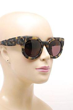 """Valley Eyewear VALLEY Eyewear """"A Dead Coffin Club"""" Brown Matte Tortoise Frame"""