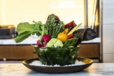 This Is the Absolute Best Way to Serve Crudités  photo