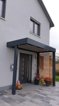House, Door Gate Design, House Entrance, House Front, Exterior Cladding, House Exterior, Interior Design Your Home, Front Door, House Extension Design
