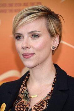 Scarlett Johansson short hairstyle