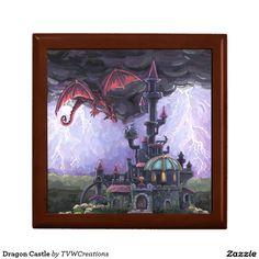 Dragon Castle Keepsake Box