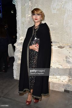 PARIS, FRANCE - SEPTEMBER 27: Catherine Baba attends the Saint Laurent show as part of the Paris Fashion Week Womenswear Spring/Summer 2017 on September 27, 2016 in Paris, France.