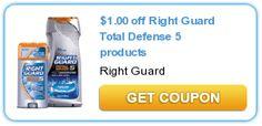 Right Guard Body Wash FREE at Walmart! #Coupon