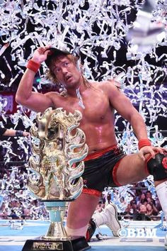 New Japan Wrestling, Japanese Wrestling, Wrestling Superstars, Wrestling Wwe, Blog Pictures, Now And Forever, Professional Wrestling, Wwe Wrestlers, Champion