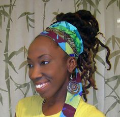 Reversible Patchwork DREAD wRAP/ HAiR  bAND by LotusRootsCreations, $26.00