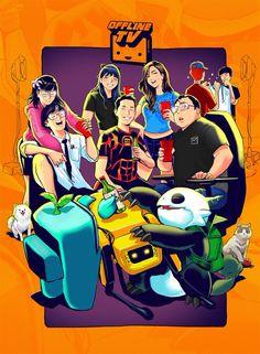 O Tv, Youtube Gamer, Dream Team, Cool Wallpaper, I Fall, Character Art, Illustration Art, Lily, Fan Art