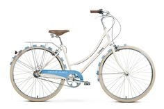 Speed Bike, Cycle Chic, Draper James, S Signature, Reese Witherspoon, Southern Style, Timeless Design, Blue Stripes, Vegan Leather