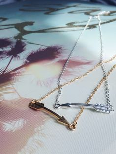 Cupids Arrow Necklace - love this