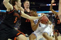 Rob Kinnan-USA TODAY Sports--The best coach and the best player in college basketball weren't enough to get Duke a single victory at the 2014 NCAA tournament -The 14th seeded Mercer Bears stunned them!