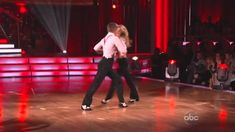 Julianne Hough and Derek Hough perform together  on Dancing with the Sta...