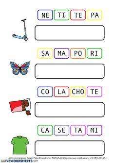Spanish Lessons For Kids, Teaching Spanish, Literacy, Activities For Kids, Acting, Homeschool, Teacher, Games, Reading