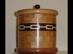 Segmented Vase. Wood turned Design - YouTube