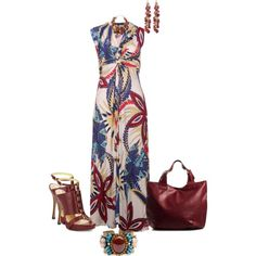 Mulberry Bouquet, created by sweetnuff on Polyvore