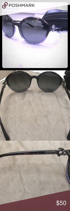Vogue polarized sunglasses Barely worn still in amazing condition. Polarized vogues. Original price is 79+tax vogue Accessories Glasses