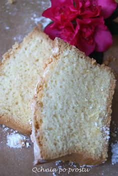 Lekkie ciasto piaskowe Bread, Food, Brot, Essen, Baking, Meals, Breads, Buns, Yemek