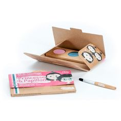 Kit Maquillage Enfant 3 couleurs Princesse & Papillon