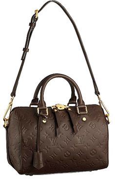 Says: Louis Vuitton Speedy Bandouliere ... #chocolatemusthave.