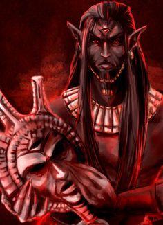 Lord Voryn Dagoth by anne-wild