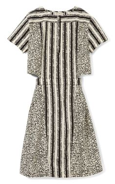 Button Collar Cutout Dress by Suno Now Available on Moda Operandi