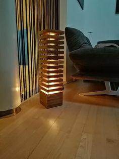 Unser Einzelstück - Nuss Holz Lampe mit 66cm Höhe! Lighting, Home Decor, Interior Designing, Deco, Decoration Home, Room Decor, Lights, Home Interior Design, Lightning