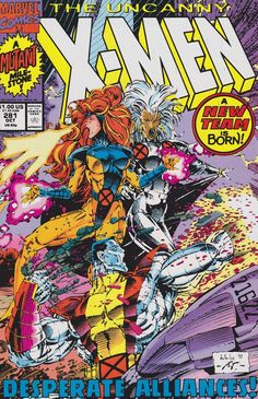 Uncanny X-Men 281 - A blast from my past... my inner 12 year old approves.