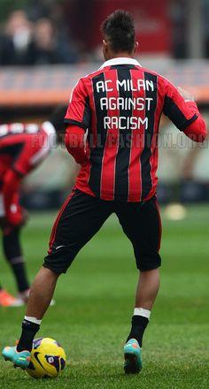 AC Milan Anti-Racism 2012/13 adidas Home Jersey