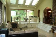 1000+ images about Sunken rooms on Pinterest | Family rooms, Coffered ...