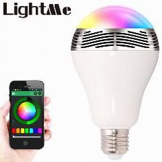 [ 26% OFF ] Smart Bulb E27 Led Rgb Light Wireless Music Led Lamp Bluetooth Color Changing Bulb App Control Android Ios Smartphone