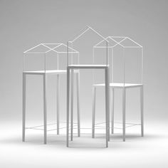Home Shelves by Artem Zigert - These would be great store displays for jewelry
