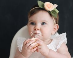 Garvin and Co.: Claire's Peachy First Birthday Party