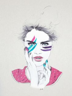 Fashion Illustration 2014 - Jenny Liz Rome Illustration