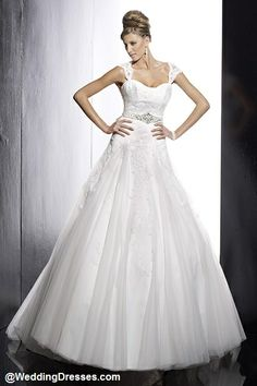 Classic with Beading and Lace - Color: Ivory
