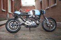 Steely Blue - Harley Davidson Cafe Racer