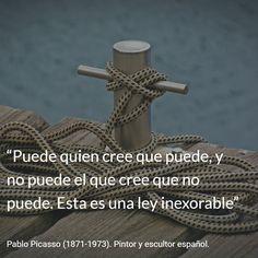 Pablo Picasso (1871-1973). Pintor y escultor español. #citas #frases