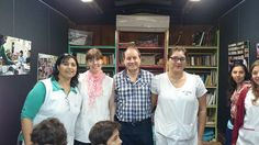 Establecimientos educativos de Sunchales, Santa Fe visitando el #trendelainclusion Ramón Carrillo