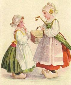 Folklore- Enfants Hollandais