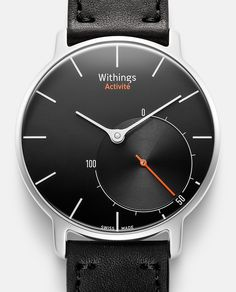 """Withings """"activité""""smart watch black"""