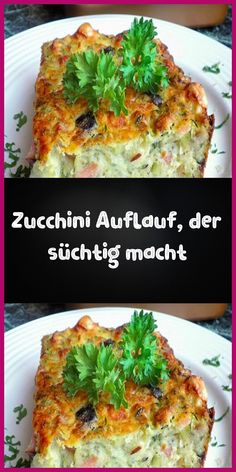 Zucchini Auflauf der süchtig macht Ingredients For the casserole: 3 coarsely grated, unshelled zucchini 2 pieces of finely diced onions 4 pieces of eggs 250 … Healthy Soup Recipes, Brunch Recipes, Breakfast Recipes, Vegan Recipes, Cooking Recipes, Snacks Pizza, Zucchini Casserole, Chicken Recipes, Food Porn