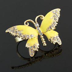 Lovely Earrings Purple Oil Painted Butterfly Pattern Stud Earrings For Women Girls