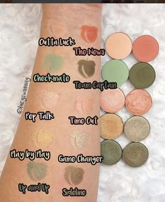 colourpop single spring eyeshadows 2017 | pinterest: @tileeeeyahx3 ✨